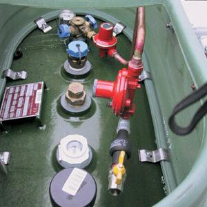 Сервисное обслуживание и ремонт газгольдеров
