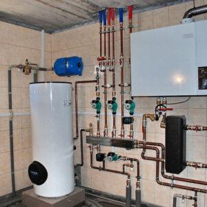 Сухарево: Отопление, водоснабжение