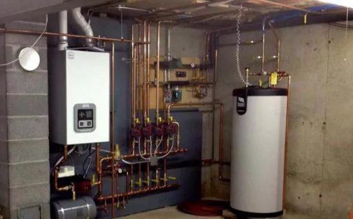 В целом само газовое отопление загородного дома