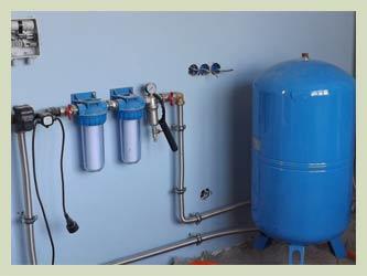 Вариант #2 — водоснабжение с насосной станцией