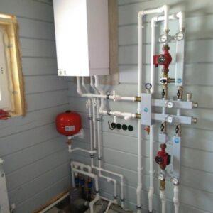 Васильевское-Голохвастово: Отопление, водоснабжение