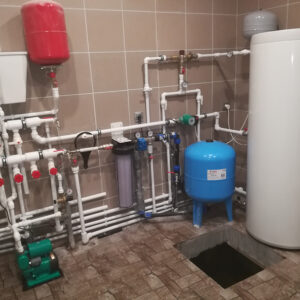 Вельяминово: Отопление, водоснабжение