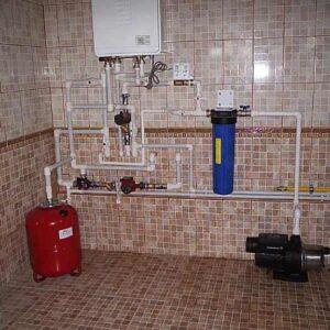 Верхуртово: Отопление, водоснабжение