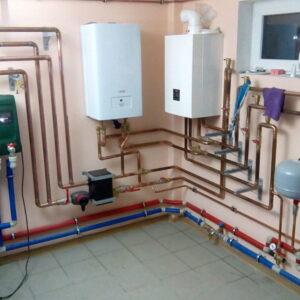 Юдино: Отопление, водоснабжение