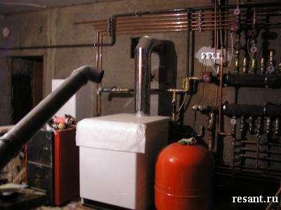 Автономное отопление, установка автономной котельной для частного загородного дома