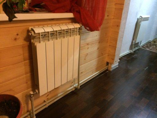 Навеска радиаторов отопления