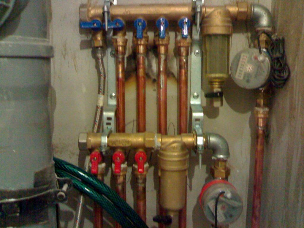 Замена труб в ванной для квартиры, замена труб водоснабжения водопровода