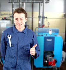 Продажа, монтаж, замена котла отопления частного дома buderus. Установка автономного отопления