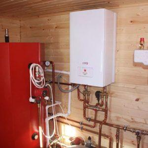 Газовое отопление деревянного дома