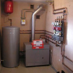Автономное отопление частного дома