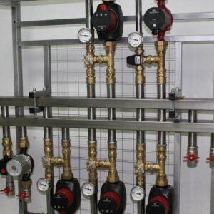 Течет коллектор системы отопления