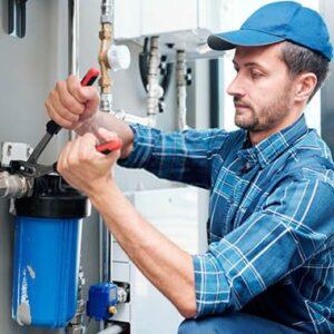 Устранение протечки труб водоснабжения
