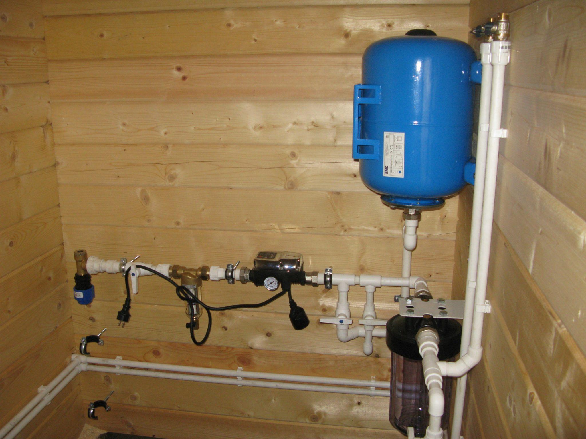 риму, системы водоснабжения загородного дома фото внешне