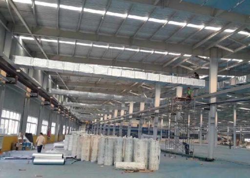 Воздушные системы отопления склада